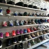 Photo taken at Burn Rubber Sneaker Boutique by Richard L. on 6/10/2012