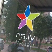 Photo taken at Reklamas Apgads by Agris K. on 9/19/2011