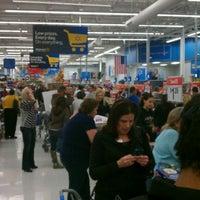Photo taken at Walmart Supercenter by Casey M. on 11/25/2011