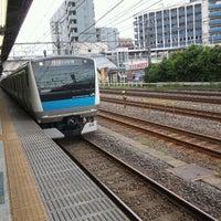 Photo taken at JR 横浜線 東神奈川駅 by 秋雄 玉. on 10/2/2011