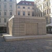 Photo taken at Judenplatz by Jenny B. on 6/30/2012