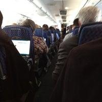 Photo taken at AA Flight 618 San Fran to Chi by Matthew C. on 5/25/2012