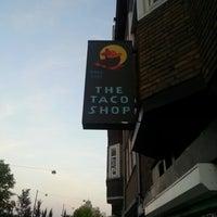 Photo taken at The Taco Shop by Kaj L. on 8/12/2012