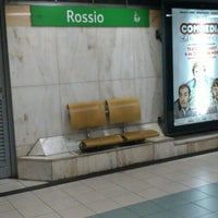 Photo taken at Metro Rossio [VD] by Carla S. on 9/11/2012
