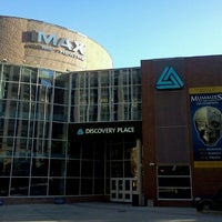Photo taken at IMAX Dome Theater at Discovery Place by Juan Carlos S. on 11/12/2011
