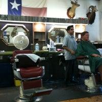 Photo taken at Sportsman Barber Shop by Ryan G. on 9/24/2011