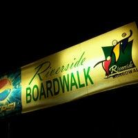 Photo taken at Riverside Boardwalk by Ramil D. on 10/15/2011