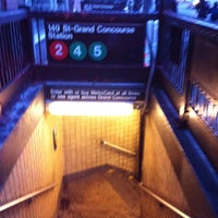 Photo taken at MTA Subway - 149th St/Grand Concourse (2/4/5) by Shana on 1/31/2011