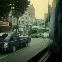 Photo taken at 연신내역 중앙버스정류장 (12-017) by AY ,. on 6/8/2012