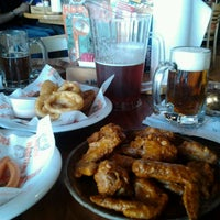 Photo taken at Hooters of Santa Monica by Freckles on 5/26/2012