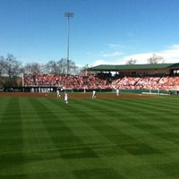 Photo taken at Doug Kingsmore Stadium by Justin W. on 4/24/2011