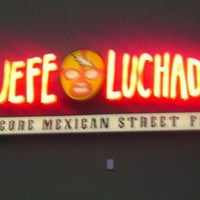 Photo taken at El Jefe Luchador by Stephanie S. on 9/10/2011