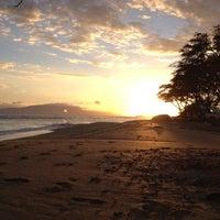 Photo taken at Ukumehame Beach by Dick M. on 7/4/2012