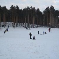 "Photo taken at Лыжная База МУП СОК ""Калининец"" by Александр Х. on 12/11/2011"
