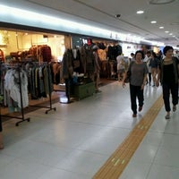 Photo taken at Gangnam Stn Underground Shopping Mall by The owner of t. on 9/8/2011