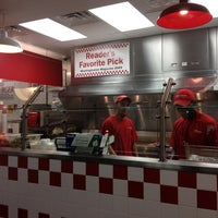 Photo taken at Five Guys by Alice S. on 7/18/2012