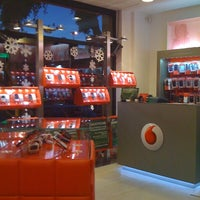 Photo taken at Vodafone Store by Sonia on 12/21/2011