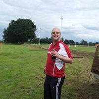 Photo taken at Reading Abbey RFC by Jim ♕. on 7/20/2012