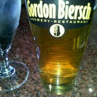 Photo taken at Gordon Biersch Brewery Restaurant by Sophia C. on 10/20/2011
