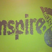 Photo taken at Inspire! Studio of the Arts by Valerie A. on 1/25/2012