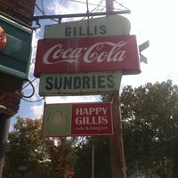 Photo taken at Happy Gillis Cafe & Hangout by Breht B. on 10/8/2011
