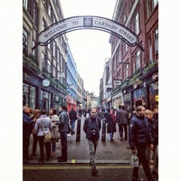 Photo taken at Carnaby Street by Bal B. on 4/6/2012
