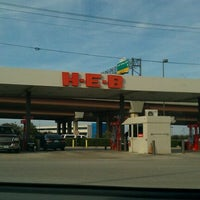Photo taken at H-E-B Gas by Jonathan C. on 1/31/2011