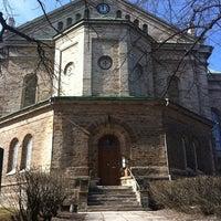 Photo taken at Kaarli kirik by Ahti L. on 4/15/2011