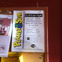 Photo taken at Planet Sub by Tom S. on 7/10/2011