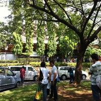 Photo taken at Gereja Katolik Santa Monika by mas s. on 10/30/2011