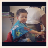 Photo taken at Ms. Lisa's Cuts For Kids by Teri L. on 4/14/2012