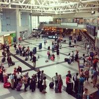 Photo taken at Budapest Liszt Ferenc International Airport (BUD) by Matteo S. on 6/4/2012