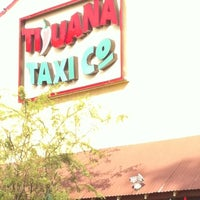 Photo taken at Tijuana Taxi Co by Pablo I. on 1/31/2012