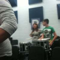 Photo taken at Matanzas High School Band Room by Christopher H. on 1/10/2011