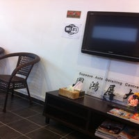 Photo taken at Supwave Automobile Car Care Centre by Yap W. on 11/10/2011