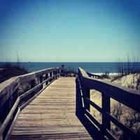 Photo taken at Atlantic ocean Tybee Island by Nancy W. on 4/8/2012