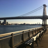 Photo taken at East River Park by Cesar R. on 12/11/2011