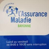Photo taken at Cpam de Bayonne by Mattin N. on 6/6/2012