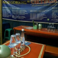 Photo taken at Nasi Goreng Ortega by Yuri F. on 9/5/2012