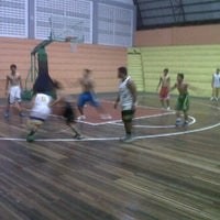 Photo taken at Hall Basket Perbasi Pontianak by muhammad k. on 12/12/2011