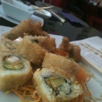 Photo taken at Nuvo Sushi by Maria V. on 5/22/2012