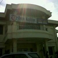 Photo taken at Tribun Kaltim by Sity H. on 12/2/2011