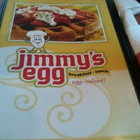 Photo taken at Jimmy's Egg by Rachel G. on 1/1/2012
