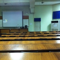 Photo taken at Lecture Hall 3 by Naphan S. on 8/15/2011