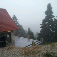 Photo taken at Le Grand Chalet by Nikos I. on 10/15/2011