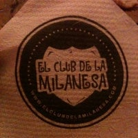 Photo taken at El Club de la Milanesa by Mike D. on 8/18/2011