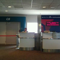 Photo taken at Gate C8 by Bill F. on 7/15/2011