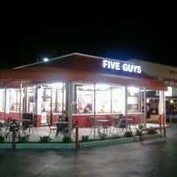 Photo taken at Five Guys by WINTER on 1/25/2012
