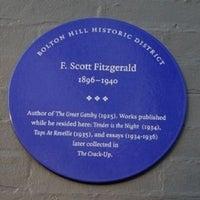 Photo taken at F. Scott Fitzgerald Park by Steven M. on 7/9/2012