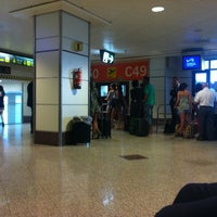 Photo taken at Gate C50 – T2 (MAD) by Asier P. on 8/30/2012